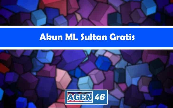 Cover Akun ML Sultan Gratis