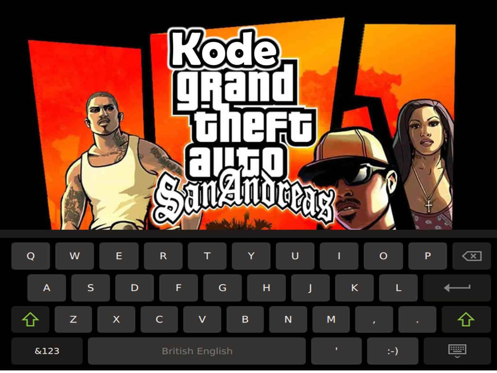 Cheat Kode GTA San Andreas PC