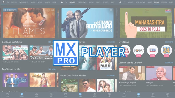 Cover Download MX Player Pro