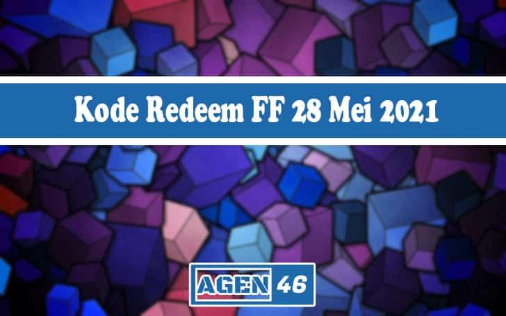 Kode Redeem FF 28 Mei 2021