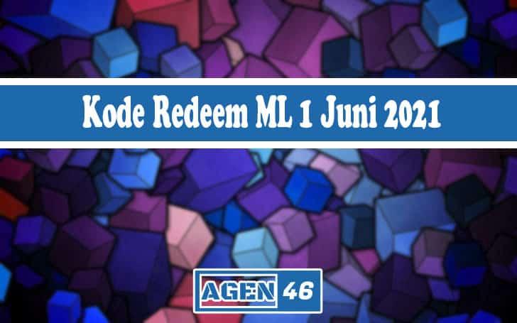 Kode Redeem ML 1 Juni 2021