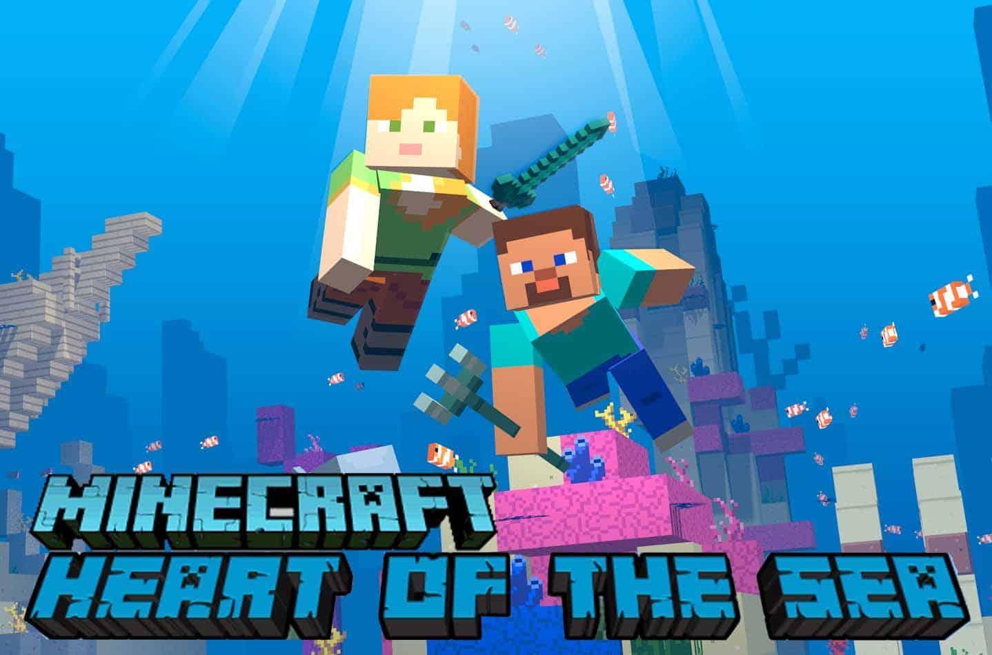 Minecraft Heart of the Sea faet