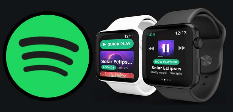 Musik Spotify to Apple Watch