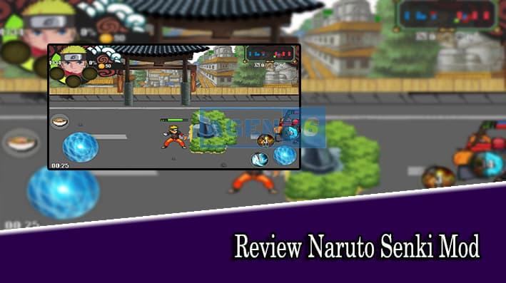 Review Naruto Senki Mod