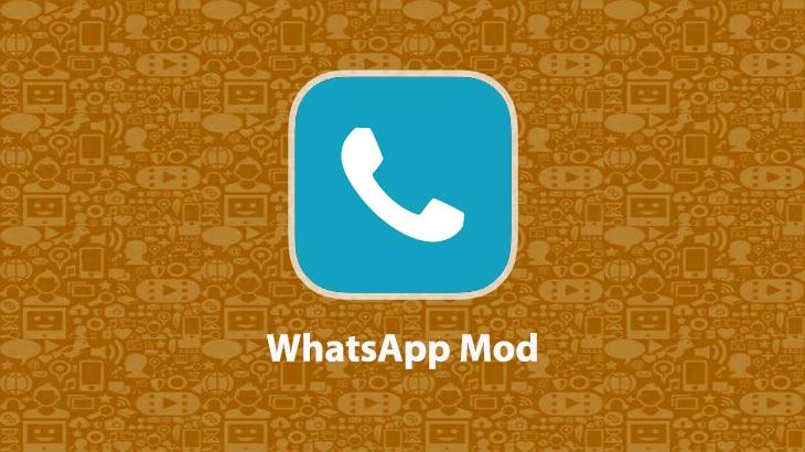 1. Dengan Menggunakan WhatsApp Mod