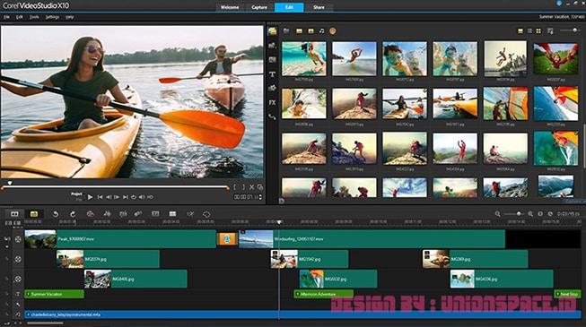 2 Corel VideoStudio Ultimate PC Video Editing Applications