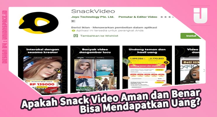 Are Video Snacks Safe and True Can Get Money