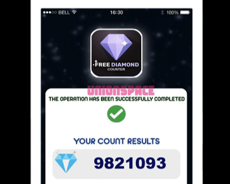 Aplikasi Diamond Counter Free Fire apk