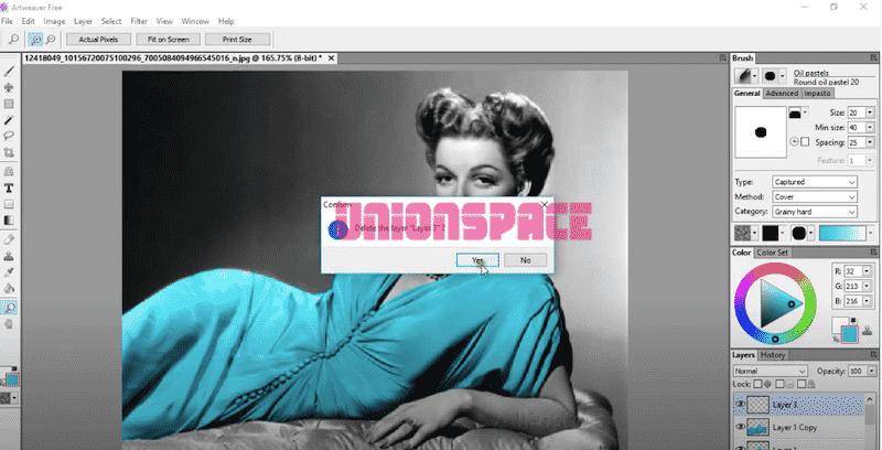Artweaver Aplikasi Edit Foto yang Ringan