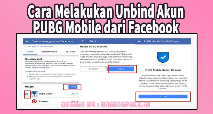 How to Unbind PUBG Mobile Account from Facebook