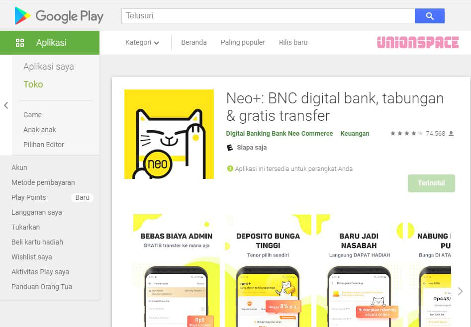 Download Aplikasi Neo+