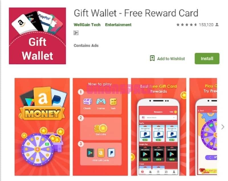 Gift Wallet Apk Penghasil Uang