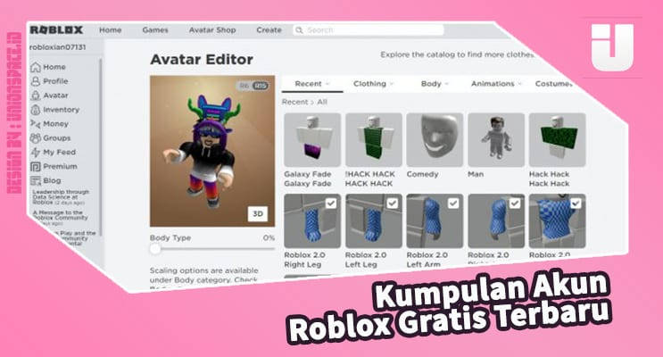 The Latest Free Roblox Account Collection