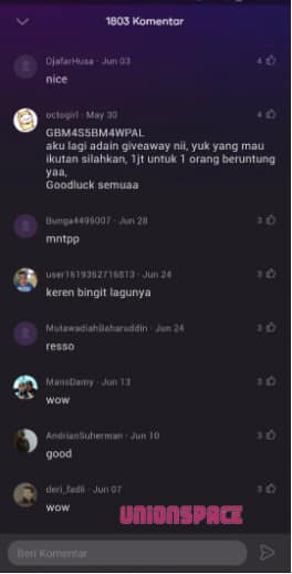 View Song Comments