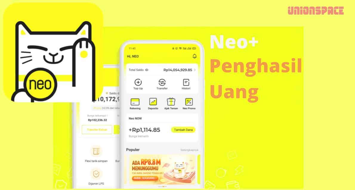 sekilas tentang Aplikasi Neo+ Penghasil Uang
